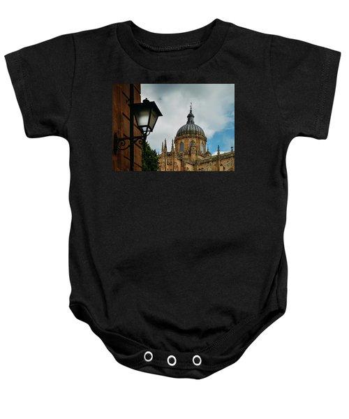 Old Cathedral, Salamanca, Spain  Baby Onesie