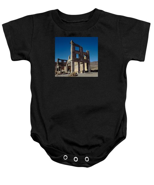Old Cook Bank Building Baby Onesie