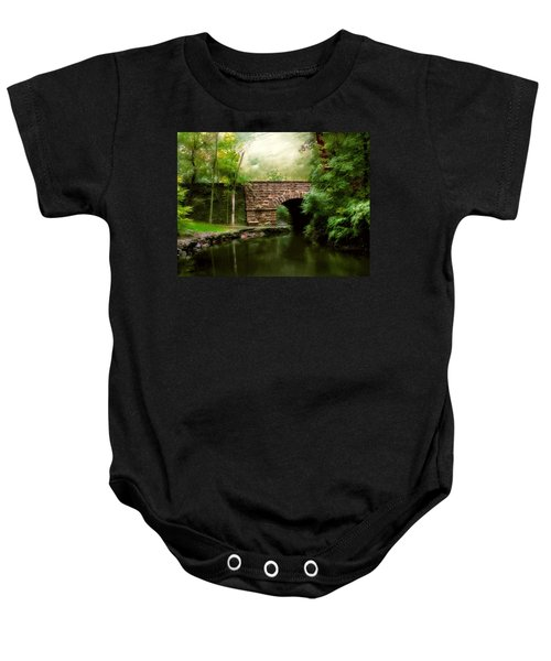Old Country Bridge Baby Onesie