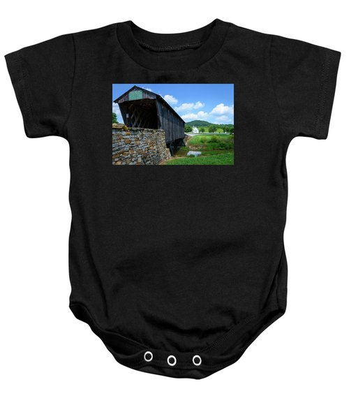 Old Country Road Baby Onesie
