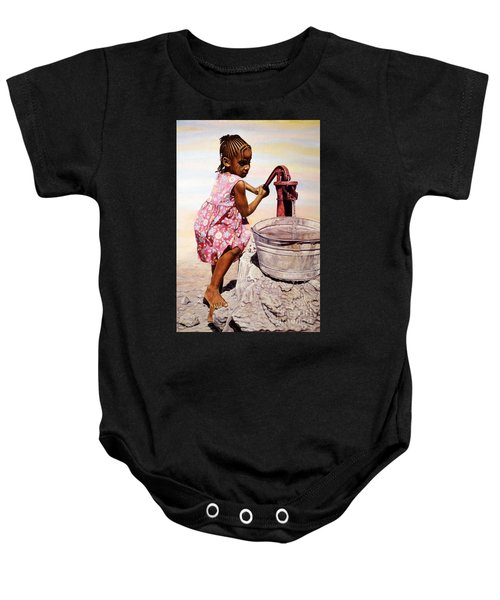 Old Faithful Baby Onesie