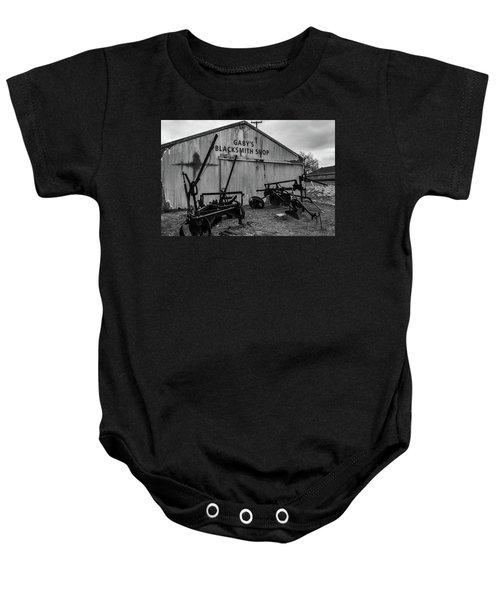 Old Frisco Blacksmith Shop Baby Onesie
