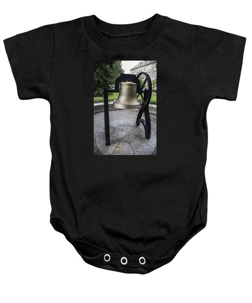 Old Main Bell  Baby Onesie by John McGraw