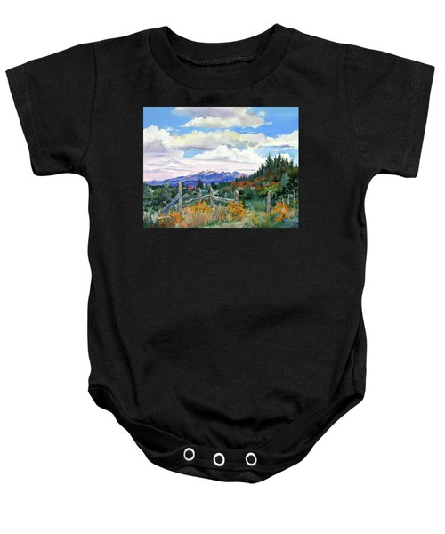 Old North Fence-in Colorado Baby Onesie