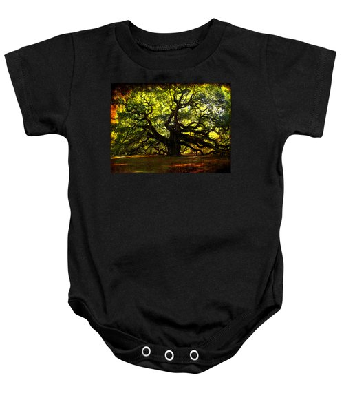 Old Old Angel Oak In Charleston Baby Onesie