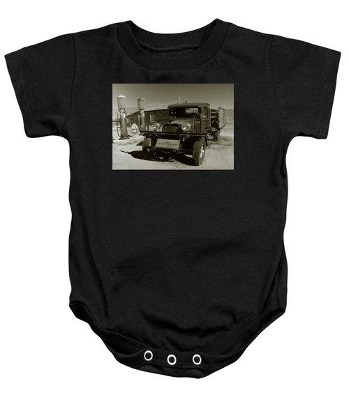 Old Pickup Truck 1927 - Vintage Photo Art Print Baby Onesie