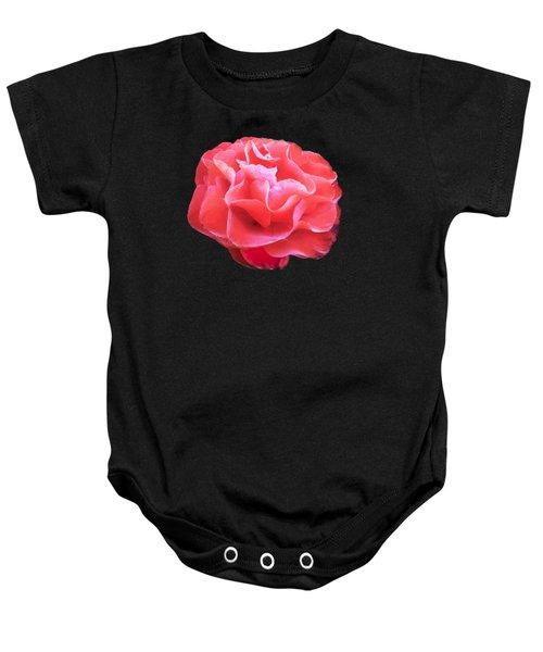 Old Rose Baby Onesie