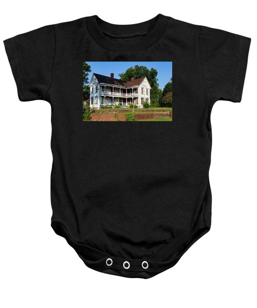 Old Shull Mansion Baby Onesie