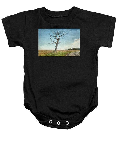 Old Tree  Baby Onesie