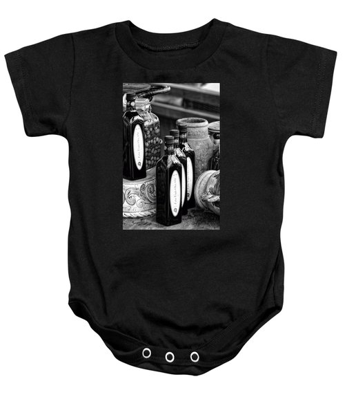 Olives And Oil Baby Onesie