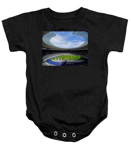 Olympic Stadium Berlin Baby Onesie