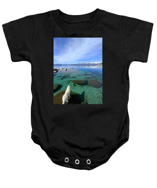 On A Clear Day You Can See Forever Baby Onesie