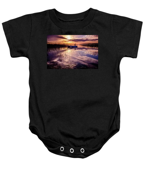 On The Boat Baby Onesie