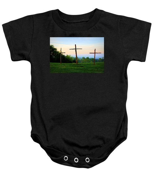 On The Hill Baby Onesie