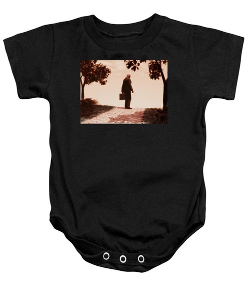 On The Path To Nowhere Baby Onesie
