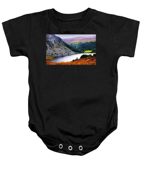 On The Shore Of Lough Tay. Wicklow. Ireland Baby Onesie