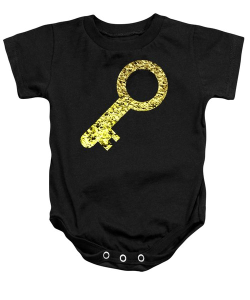 One Key One Heart 2 Baby Onesie