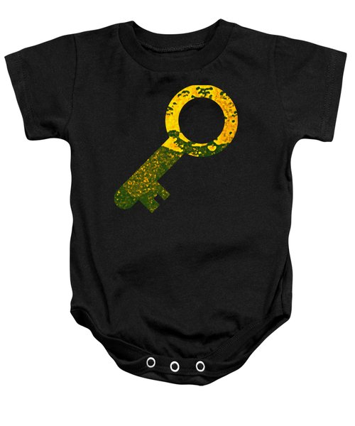 One Key One Heart Baby Onesie