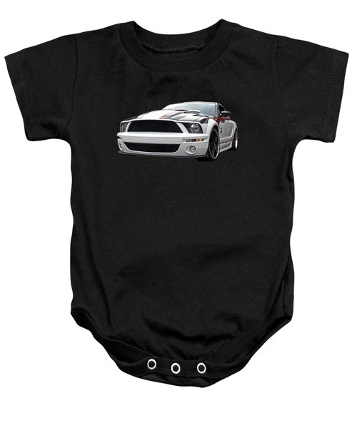 One Of A Kind Mustang Baby Onesie