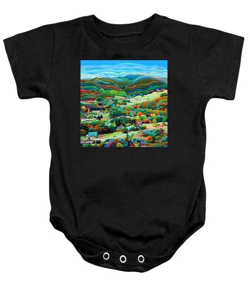 Onset Of The Appalachian Wonderfall Baby Onesie