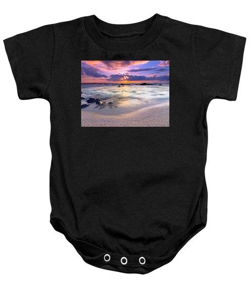 O'oma Beach Sunset Baby Onesie