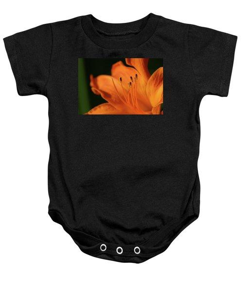 Orange Wave 3096 H_2 Baby Onesie
