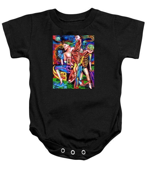Orchestration Of Metaphysical Motion Baby Onesie