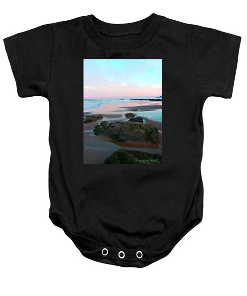 Oregon Coast 2 Baby Onesie