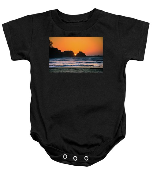 Oregon Sunset Baby Onesie