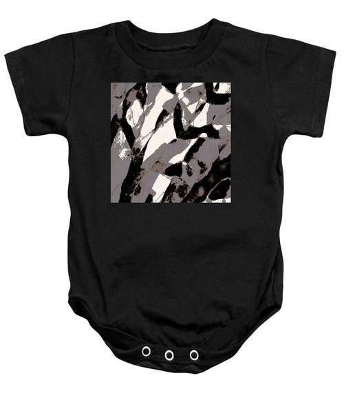Organic No 2 Abstract Baby Onesie