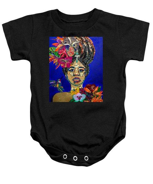 Oshun Blooming Baby Onesie