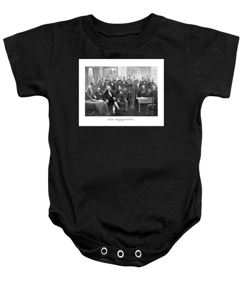 Our Presidents 1789-1881 Baby Onesie