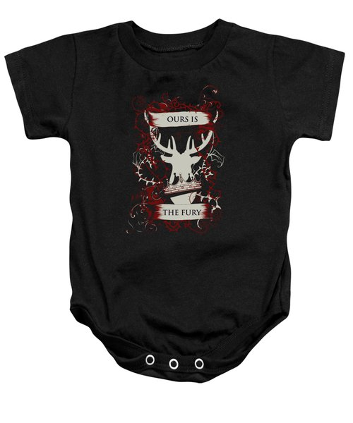 Ours Is The Fury Baby Onesie