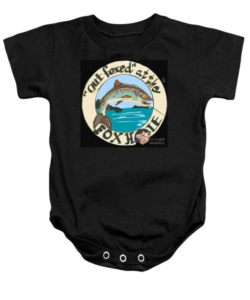 Out Foxed Baby Onesie