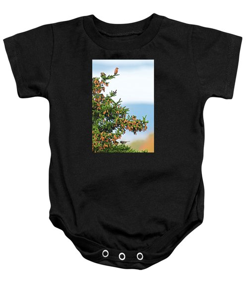 Out On A Limb # 2 Baby Onesie by Matt Plyler