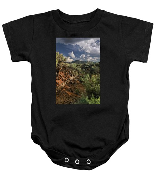 Out On The Mesa 2 Baby Onesie