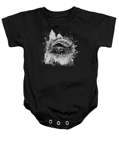 Outa My Way Baby Onesie by Susan Capuano