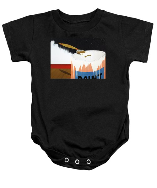 Painting Out The Sky Baby Onesie