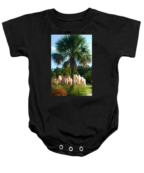 Palmetto Tree  Baby Onesie
