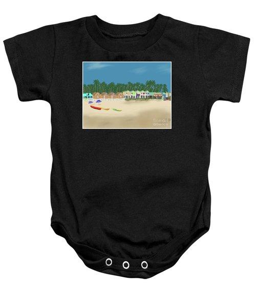 Palolem Beach Goa Baby Onesie
