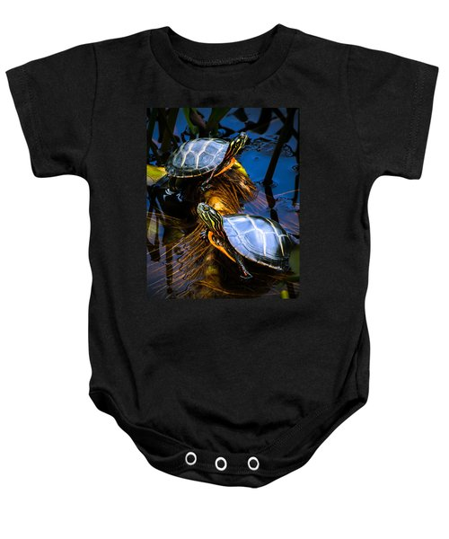 Passing The Day With A Friend Baby Onesie