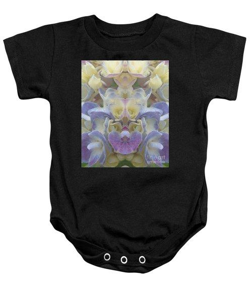 Pastel Blooms Baby Onesie
