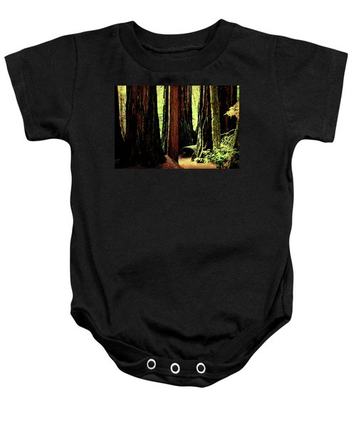 Path Through The Forest Edge . 7d5432 Baby Onesie