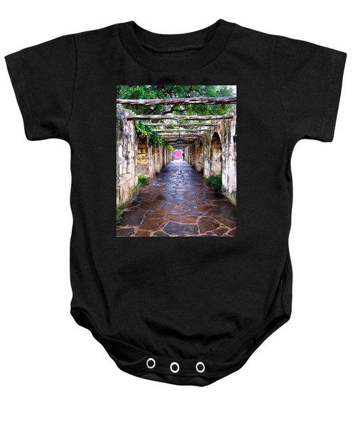 Path To The Alamo Baby Onesie