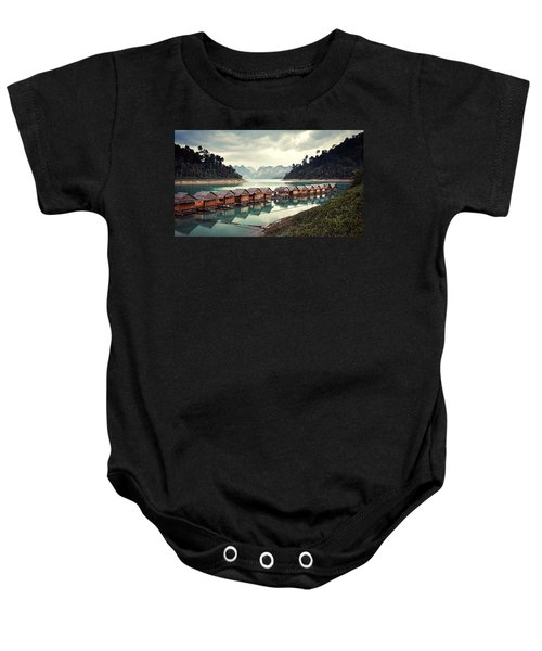 Peace On The Lake Baby Onesie