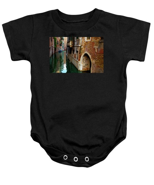 Peaceful Canal Baby Onesie