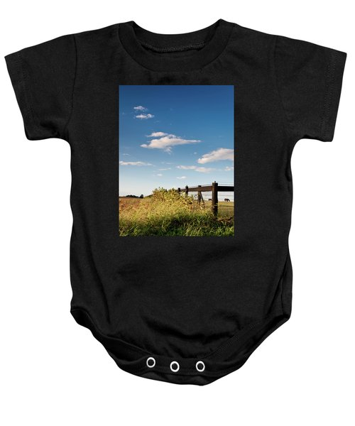 Peaceful Grazing Baby Onesie