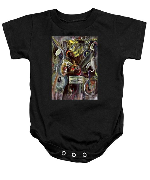 Pearl Jam Baby Onesie by Ikahl Beckford