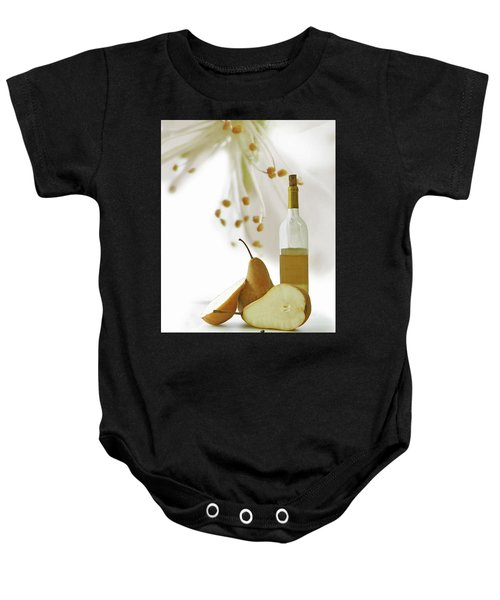 Pears Blossom Baby Onesie