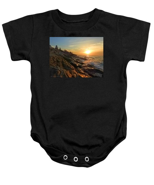 Pemaquid Lighthouse Baby Onesie
